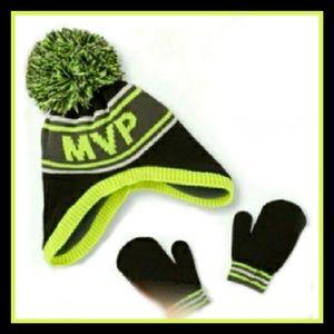 ea858ef32c5 Toddler boys winter hat   mittens set ...